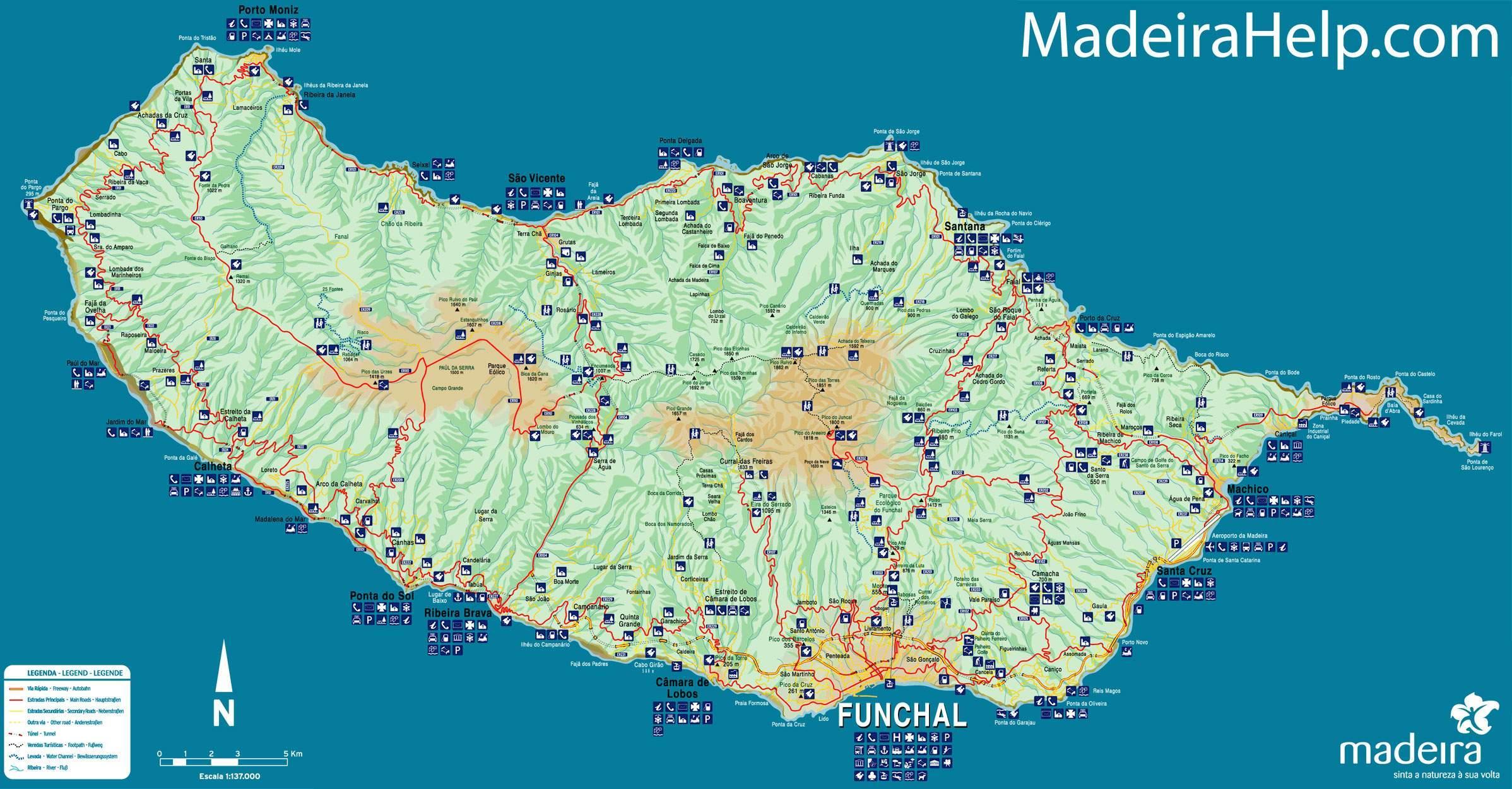 mapa madeira para imprimir Mapa De Madeira | thujamassages mapa madeira para imprimir
